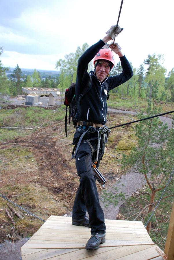 Jonas Grahn inför uppstarten av Little Rock Lake AB i maj 2014. (Foto Uppvidinge Tidning)