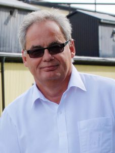 Stefan Korzonek, Norrhults Stålgjuteri. (Arkivbild Uppvidinge Tidning)